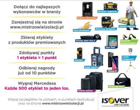 Nagrody w programie Isover Mistrzowie Izolacji.