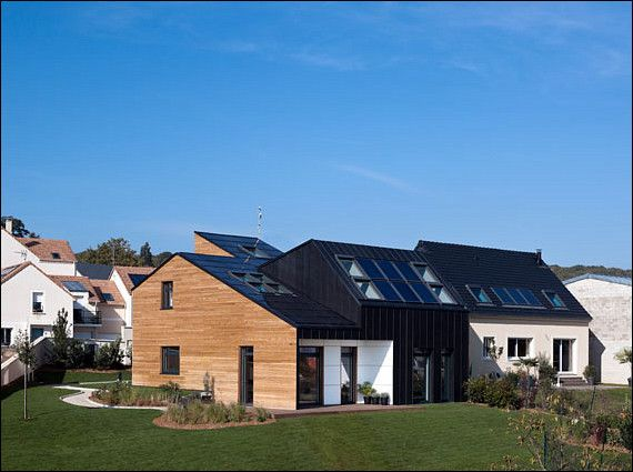 Model home 2020 grupy velux nominowany do sustainable for Maison saine air et lumiere