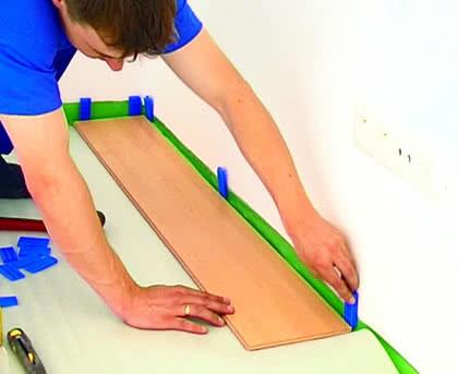 Panele można układać również na starej posadzce, pod warunkiem, że jest stabilna i równa (fot. Komfort).
