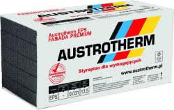 """Certyfikowany styropian Austrotherm EPS FASSADA PREMIUM λD ≤0,031 ze znakiem jakości """"Gwarantowany Styropian"""""""