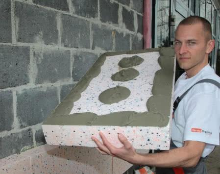 Ocieplenie budynku w technologii BSO.