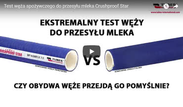 Test węża CRUSHPROOF STAR
