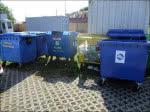 RD bud - kontenery na budowie