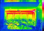 Obraz termowizyjny budynku - ROCKWOOL