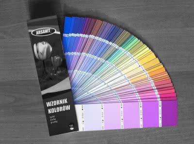 System ociepleń elewacji Therma+ firmy Arsanit - wzornik kolorów
