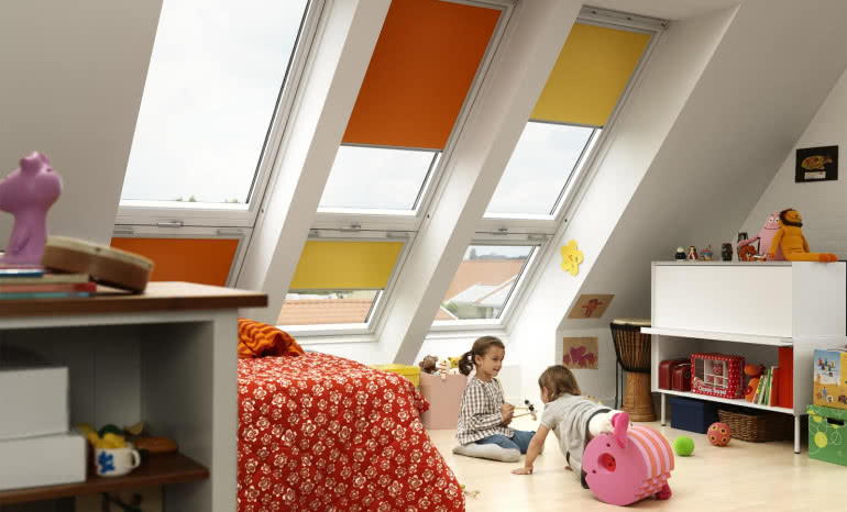 Nowa kolekcja rolet Colour by You marki Velux