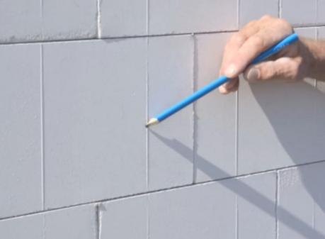 Ściana z bloczków silki