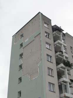 Katastrofa budowlana -Warszawa