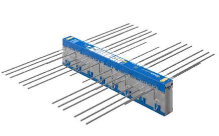 Element termoizolacyjny Schöck Isokorb® zapobiega powstawaniu mostków termicznych na drodze: ściana-płyta balkonowa