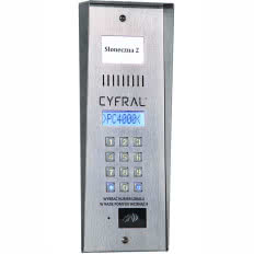 Panel domofonowy CYFRAL PC-4000R