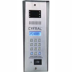 Panel domofonowy CYFRAL PC-4000RV