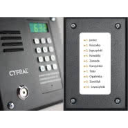Panel cyfrowy CYFRAL PC-1000
